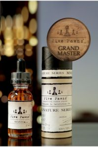 E-liquide Grandmaster, gamme Signature, Five pawns