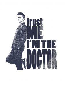 David Tennant dans le rôle du Doctor Who. Allons-y !