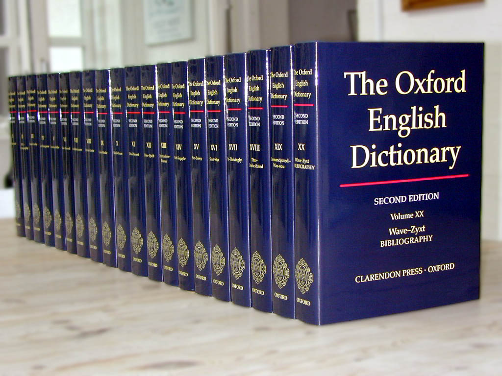 collection oxford dictionnary