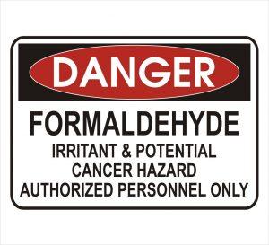 danger-formaldehyde-cancer-risk-sign