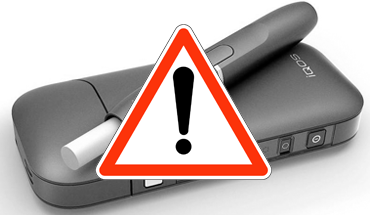 Non l'IQOS n'est pas une e-cigarette